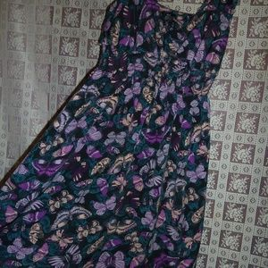 NWOT Butterfly Dress women's medium